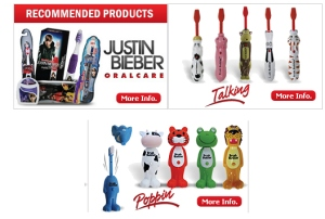 Brush Buddies - Justin Bieber, Lady Gaga Singing Toothbrushes and more