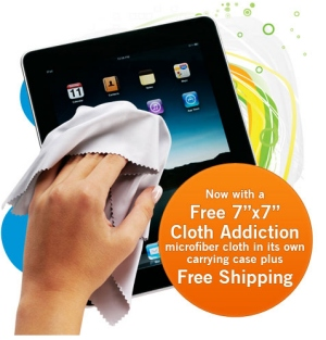 Cloth Addiction - Microfiber Screen Cleaning Cloth