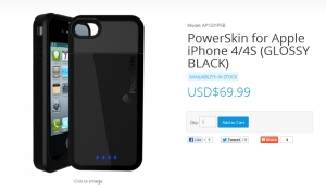 Powerskin - IPhone 4 Battery Case