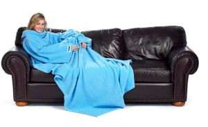 Slanket - the blanket with sleeves!